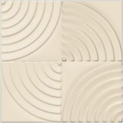 Πλακάκια εξωτερικού χώρου Radial ivory 30x30