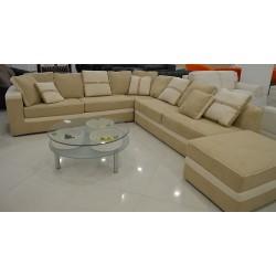 Γωνιακός καναπές beige