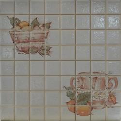 Decor Gres Catalan white 20x20