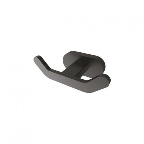 Άγγιστρο Διπλό  μαύρο ματ PL18806S