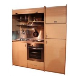 Πολυκουζινάκι KS-125 Προσθήκη 65 Μεγάλο ψυγείο και μεγάλο  ΙΝΟΧ φούρνο Κατόπιν Παραγγελίας