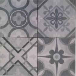 Πλακάκια  τοίχου Cementina grey decore 20x20