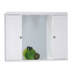 6KD0070WH Καθρέπτης κρεμαστός 70cm Λευκός