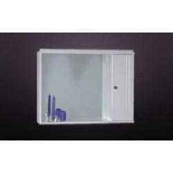6KLR070WH Καθρέπτης Με Ντουλάπι