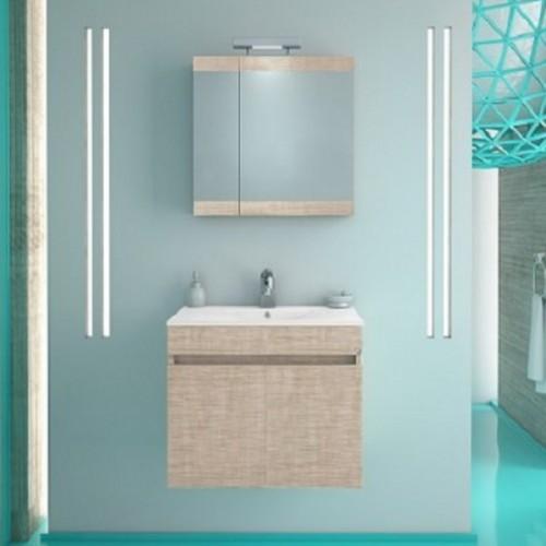 Νέα Παραλαβή! Έπιπλα μπάνιου MAGNOLIA 60 BEIGE