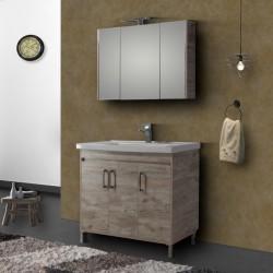 Έπιπλο μπάνιου Savina Beige 100 cm