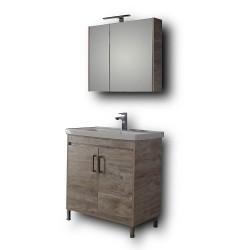 Έπιπλο μπάνιου Savina Beige 80 cm