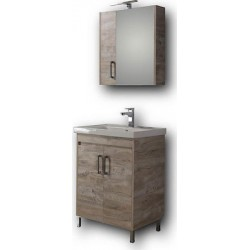 Έπιπλο μπάνιου Savina Βeige 65cm