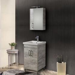 Έπιπλο μπάνιου Savina Grey 55cm