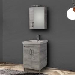 Έπιπλο μπάνιου Savina Grey 65cm