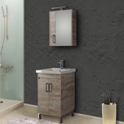 Έπιπλο μπάνιου Savina Βeige 55cm