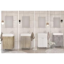 Έπιπλα μπάνιου Litos 50 PL Wood/ Brown/SG White/Granite Νέα Παραλαβή!