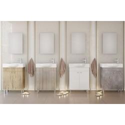 Έπιπλα μπάνιου Litos 55 PL Wood/ Brown/SG White/Granite Νέα Παραλαβή!