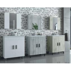 Έπιπλα μπάνιου Roma Beige/Gray/White 70 Νέα Παραλαβή!