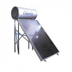Ηλιακός Θερμοσίφωνας LIBERTY 160 λίτρα διπλής ενέργειας