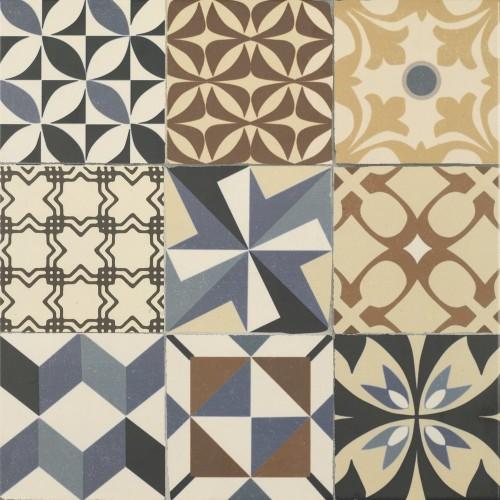 Πλακάκια δαπέδου Gaudi Multi 45x45
