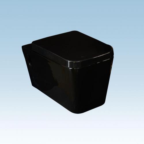 Λεκάνη Κ. lux Μαύρη  570 × 350 × 330 mm