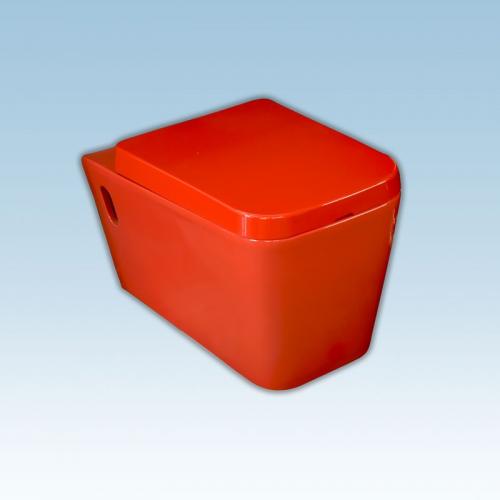 Λεκάνη K.Top Lux Red 570 × 350 × 330 mm