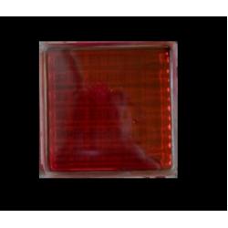 Υαλότουβλο Κόκκινο 25x25