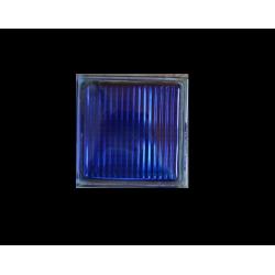 Υαλότουβλο Μπλε 20x20