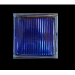 Υαλότουβλο Μπλε 25x25