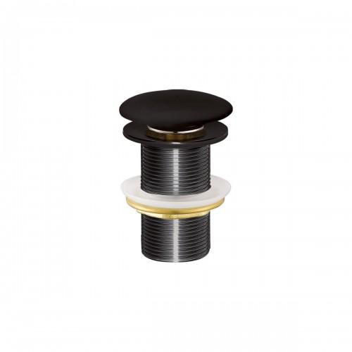Βαλβίδα νιπτήρος μαύρη SF032-S