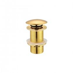 Βαλβίδα νιπτήρος χρυσή  SF030-G